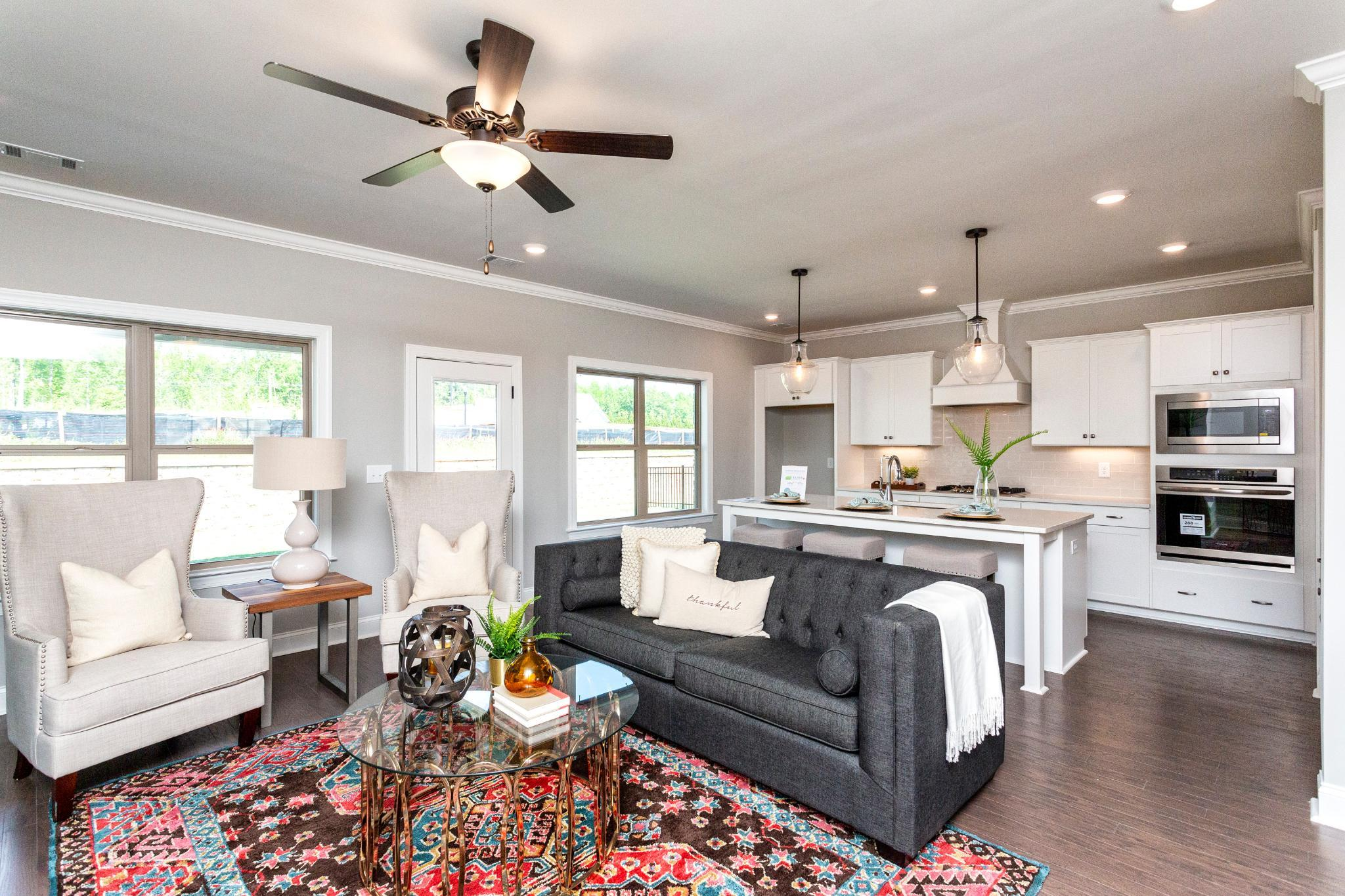 Living Area featured in the Collinwood By Harris Doyle Homes Inc in Birmingham, AL