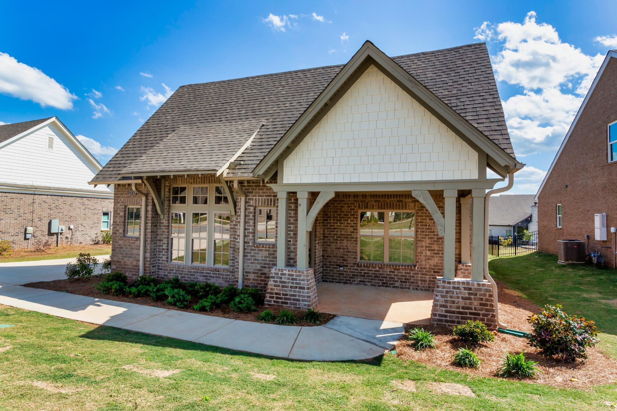 Exterior featured in the Bristol By Harris Doyle Homes Inc in Birmingham, AL