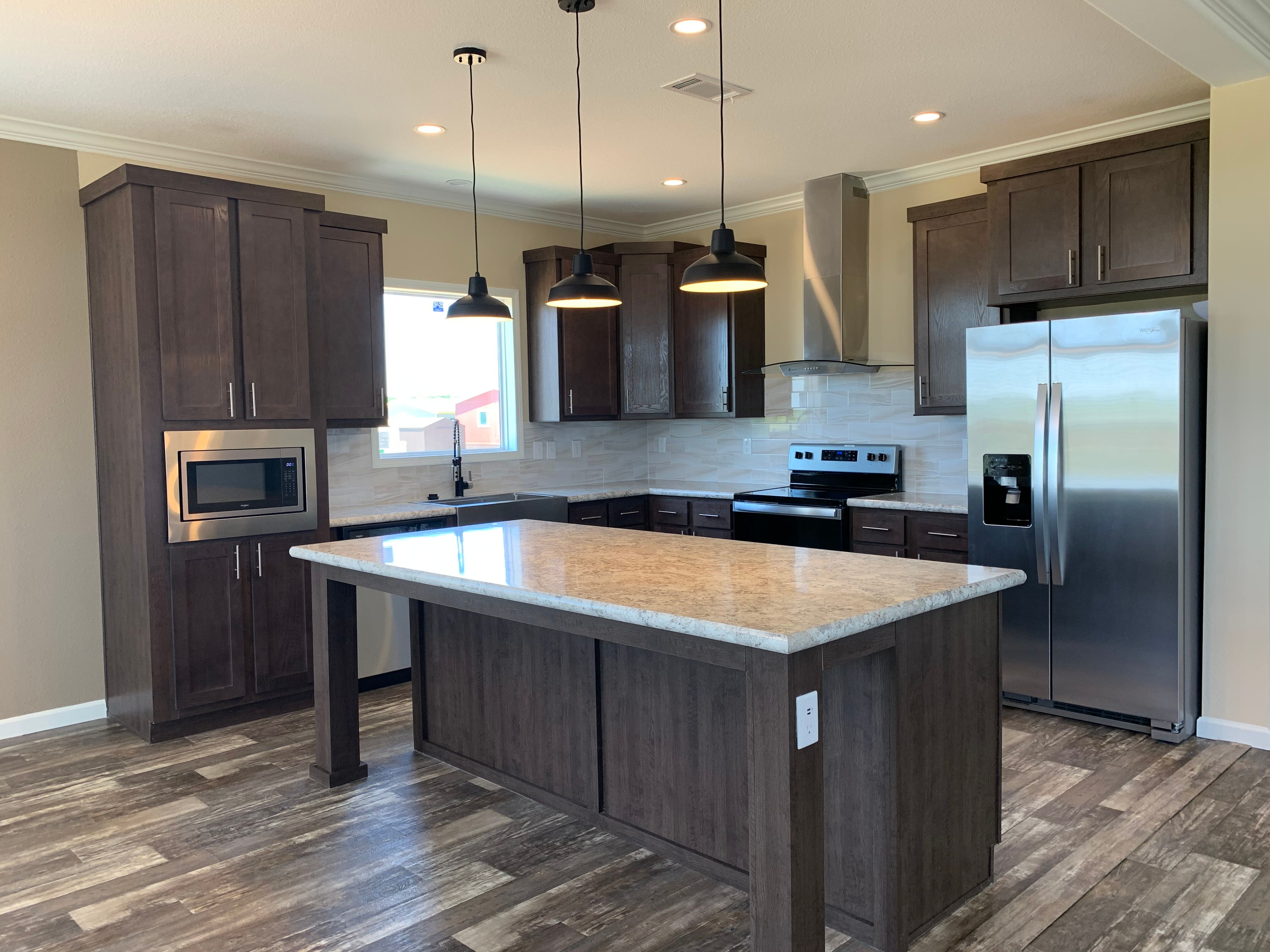 Kitchen featured in the Plan 250 By Harston Woods in Fort Worth, TX