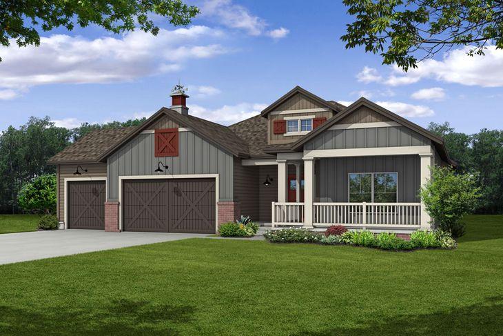 Exterior:Farmhouse I