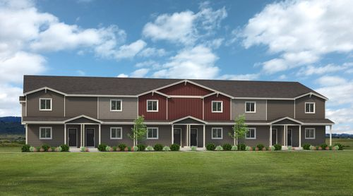 Harvest Village Townhomes By Hartford Homes In Fort Collins Loveland Colorado