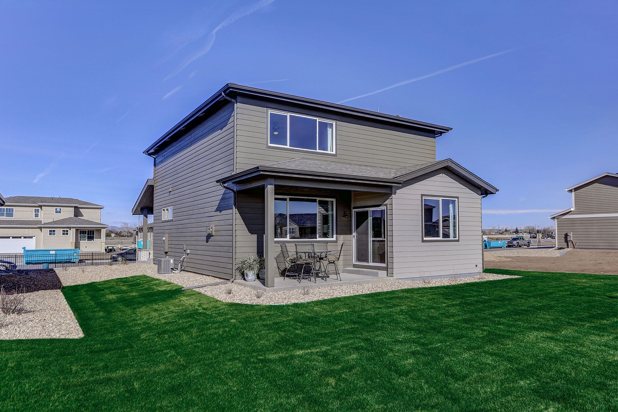 Exterior featured in the Yellowstone By Hartford Homes in Fort Collins-Loveland, CO