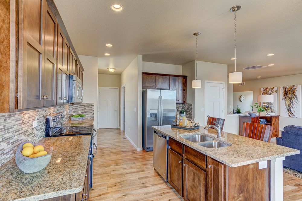 Kitchen featured in the Oak By Hartford Homes in Fort Collins-Loveland, CO