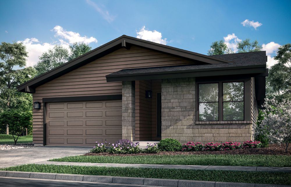 Exterior featured in the Pateros Creek By Hartford Homes in Fort Collins-Loveland, CO