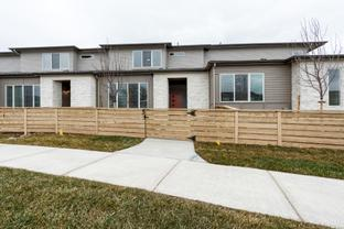 Howes - Hartford Homes at Trailside Townhomes: Timnath, Colorado - Hartford Homes