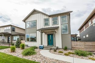 Newton - Hartford Homes at Trailside Single-Family: Timnath, Colorado - Hartford Homes