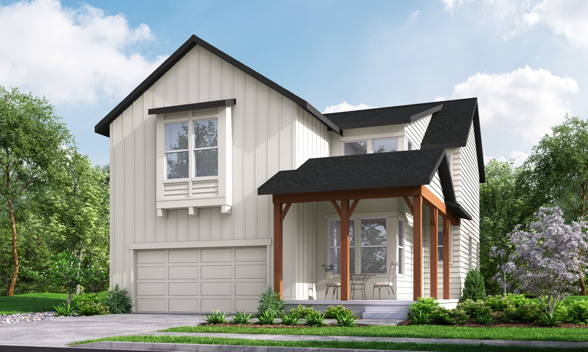 Exterior featured in The Twain By Hartford Homes in Greeley, CO