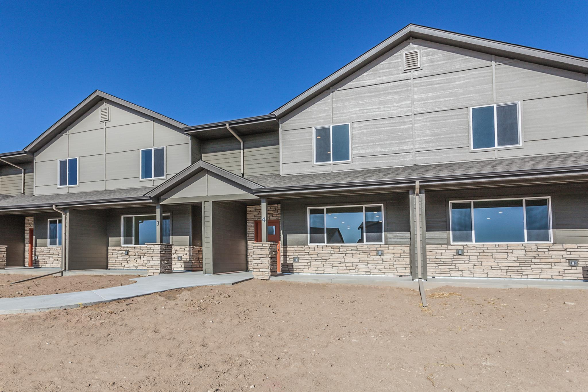 Exterior featured in the 6603 W 4th Street Rd. #4 By Hartford Homes in Greeley, CO