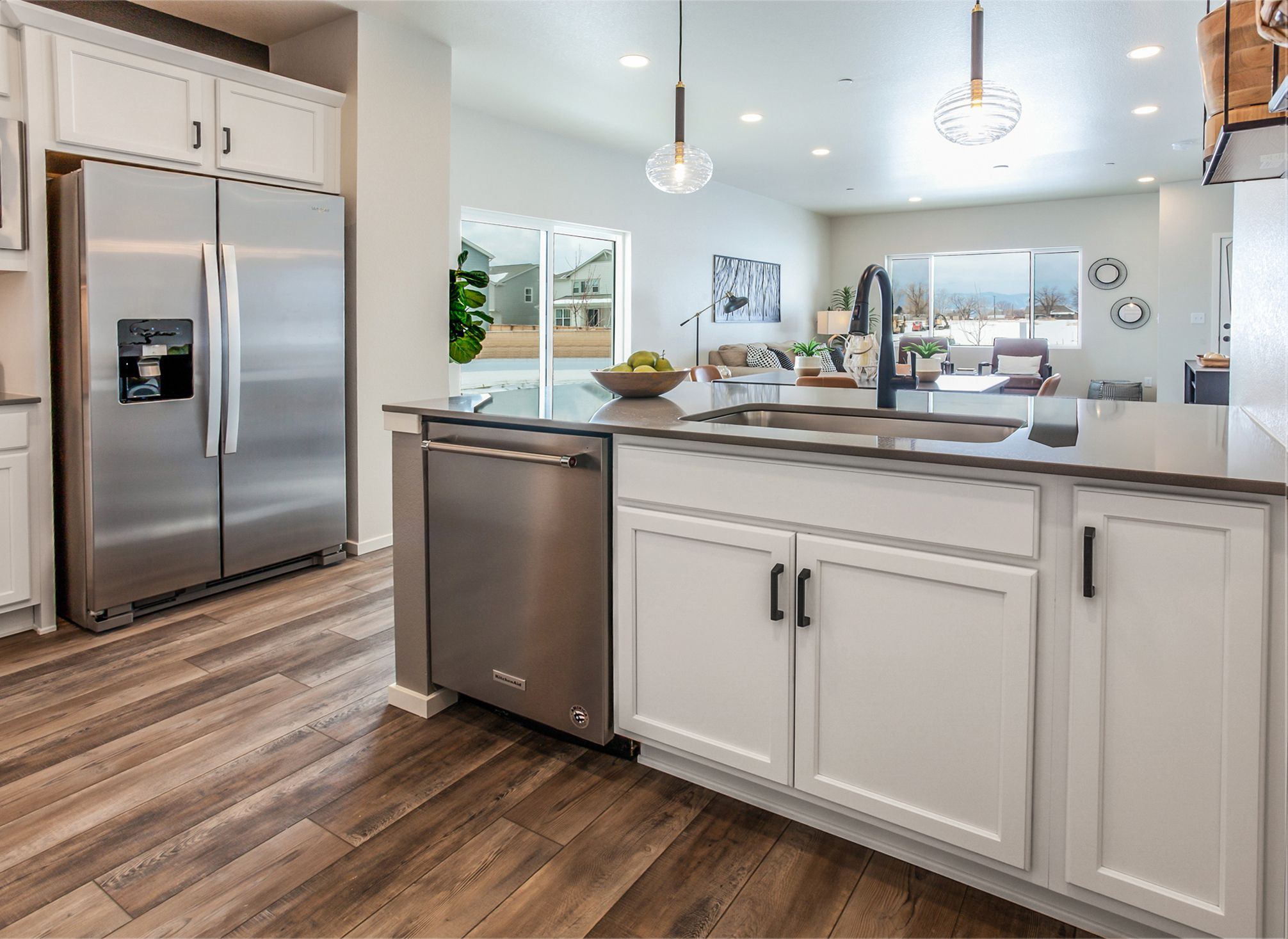 Kitchen featured in The Durango at Mosaic By Hartford Homes in Fort Collins-Loveland, CO