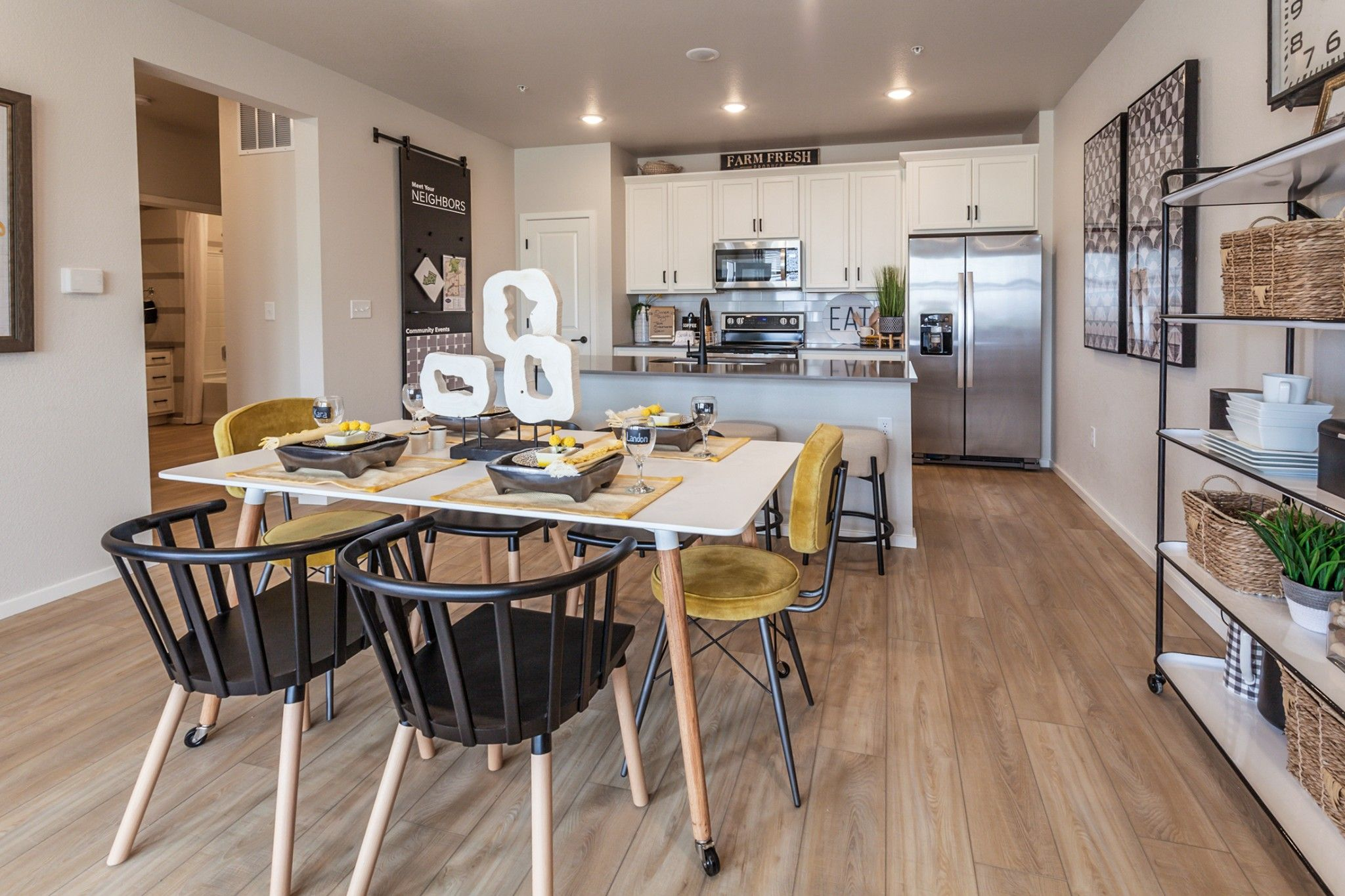 Kitchen featured in The Morgan By Hartford Homes in Fort Collins-Loveland, CO