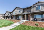 Hartford Homes at Northridge Trails Townhomes by Hartford Homes in Greeley Colorado