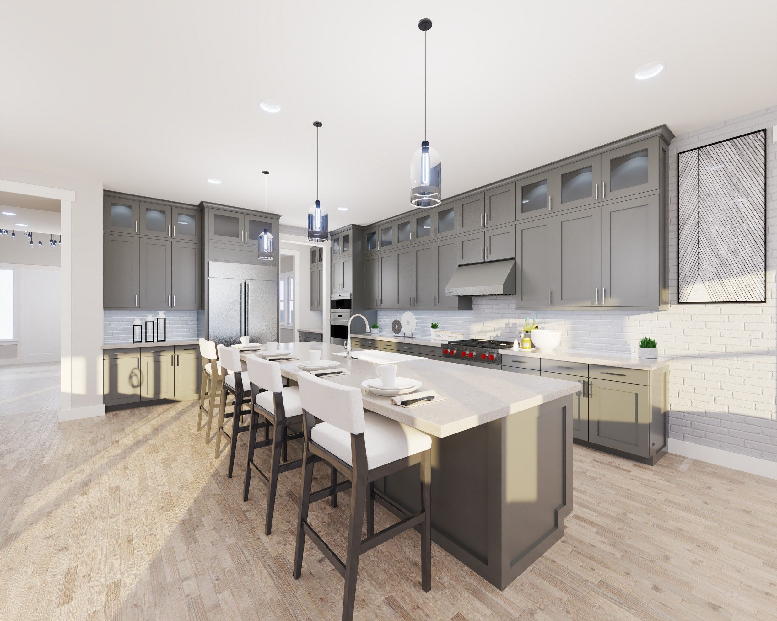 Kitchen featured in the Plan 1 By Haven Development  in Oakland-Alameda, CA