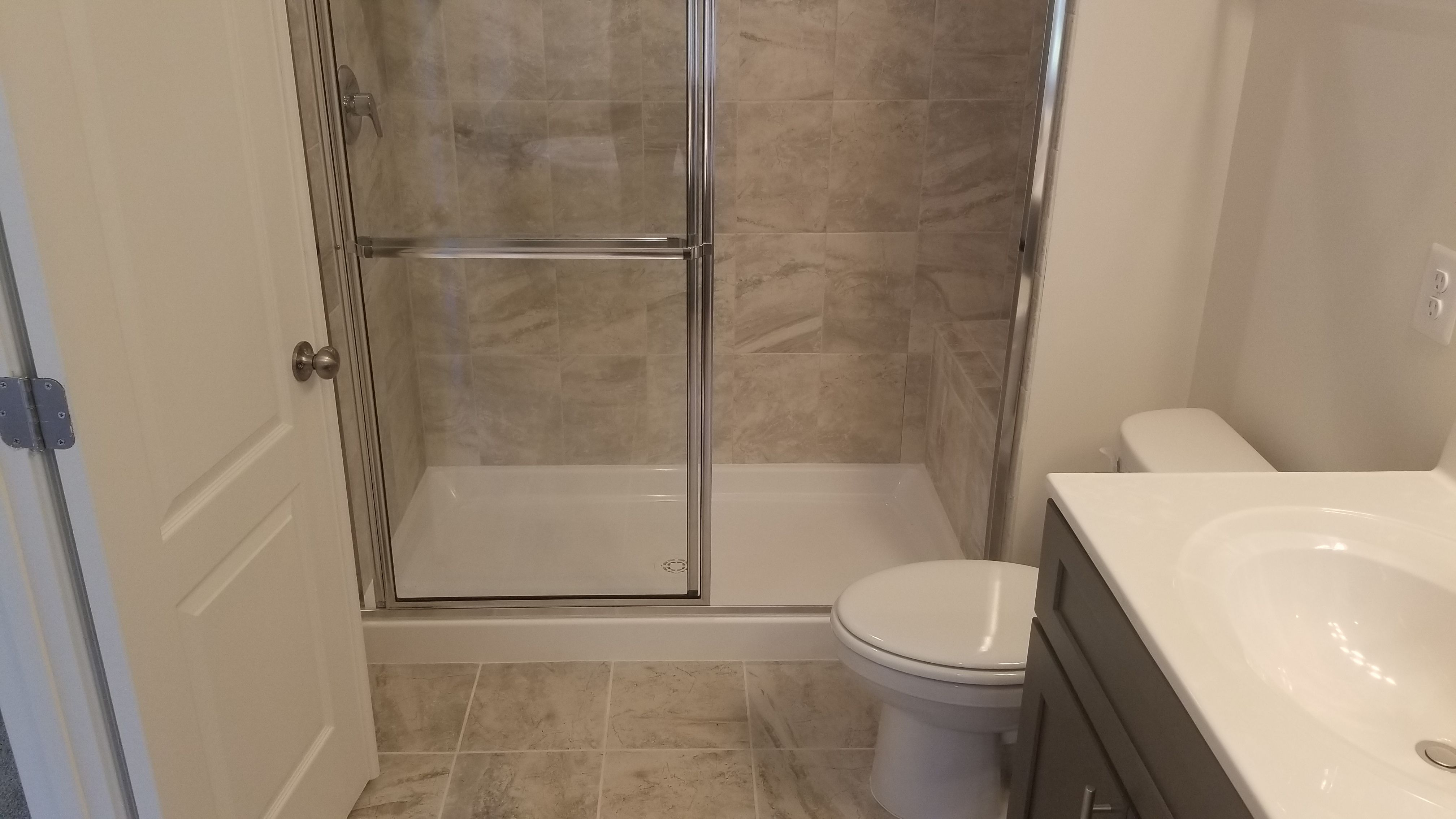 Bathroom featured in the Davidson III-3 Levels End Unit By Haverford Homes in Washington, MD