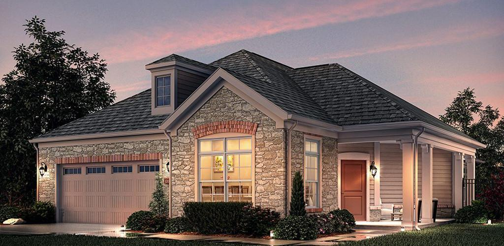 Exterior featured in the Promenade By Scarmazzi Homes in Pittsburgh, PA