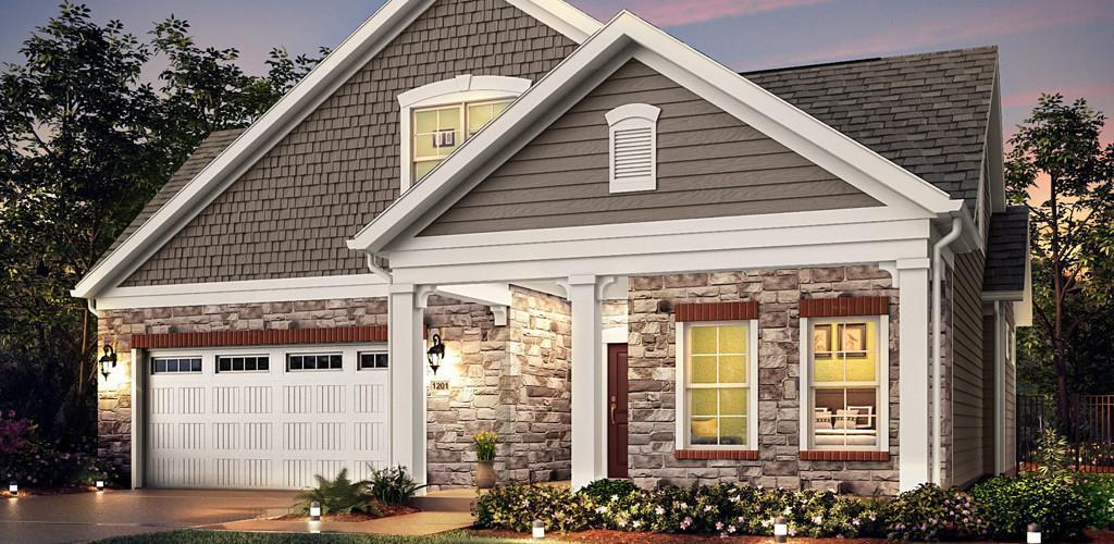 Exterior featured in the Portico Plus By Scarmazzi Homes in Pittsburgh, PA