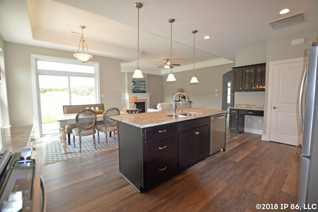 Kitchen featured in the Capri IV By Scarmazzi Homes in Pittsburgh, PA