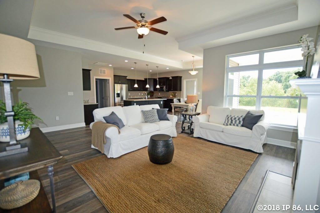 Living Area featured in the Capri IV By Scarmazzi Homes in Pittsburgh, PA