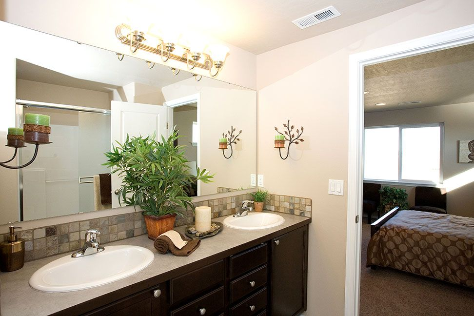Bathroom featured in the Teton By Hayden Homes, Inc. in Corvallis, OR