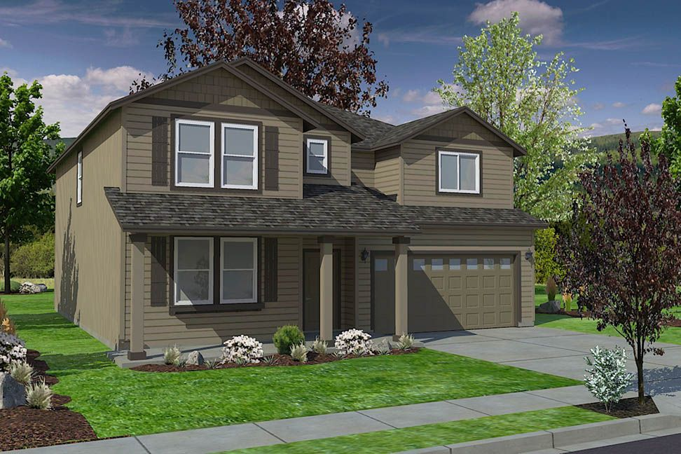 Exterior featured in the Vale By Hayden Homes, Inc. in Eugene-Springfield, OR