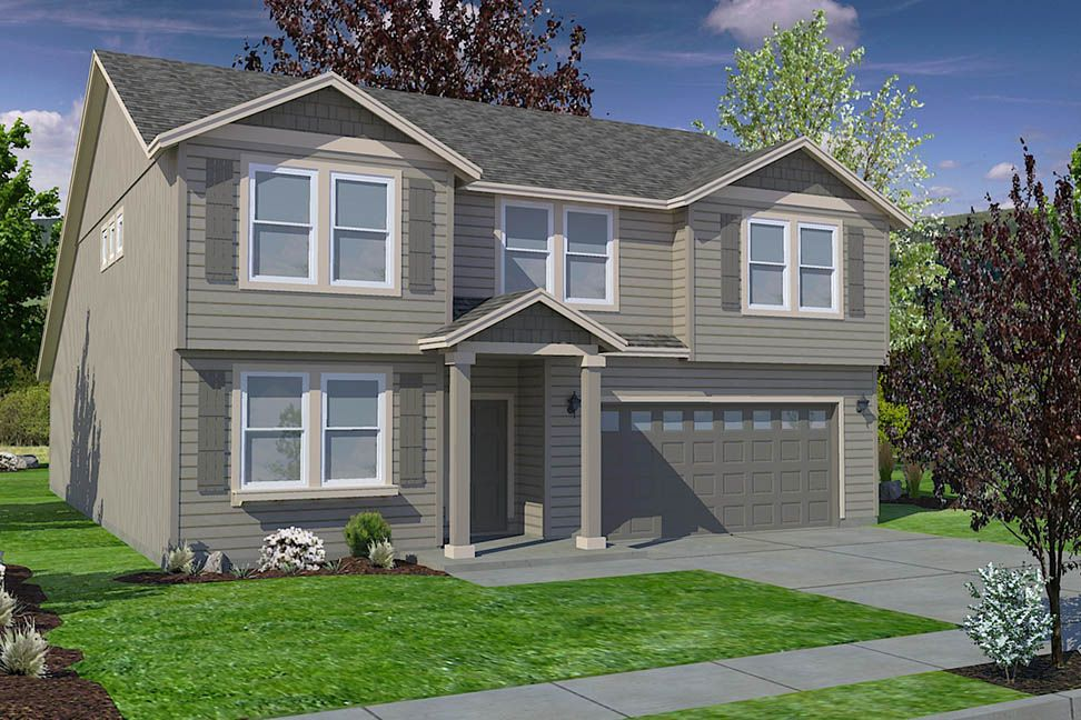 Exterior featured in the Umpqua By Hayden Homes, Inc. in Eugene-Springfield, OR