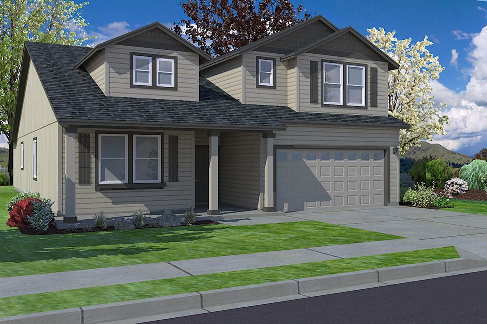 Exterior featured in the Orchard Encore By Hayden Homes, Inc. in Eugene-Springfield, OR