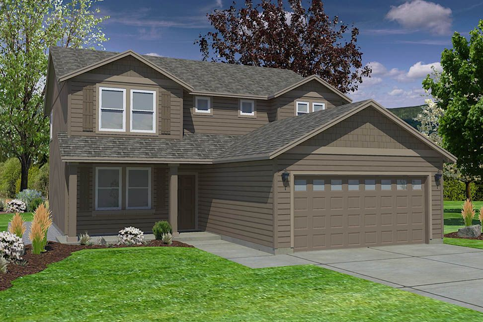 Exterior featured in the Stoneridge By Hayden Homes, Inc. in Corvallis, OR