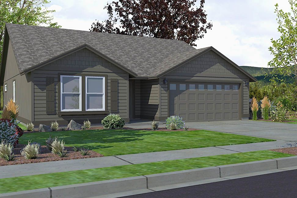 Exterior featured in the Edgewood By Hayden Homes, Inc. in Corvallis, OR