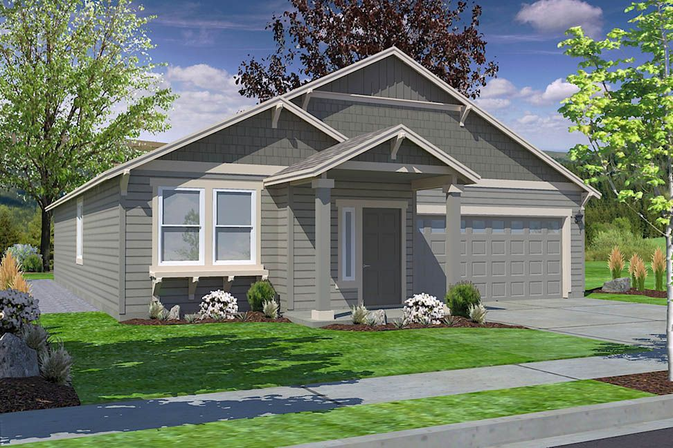 Exterior featured in the Hudson By Hayden Homes, Inc. in Spokane-Couer d Alene, WA
