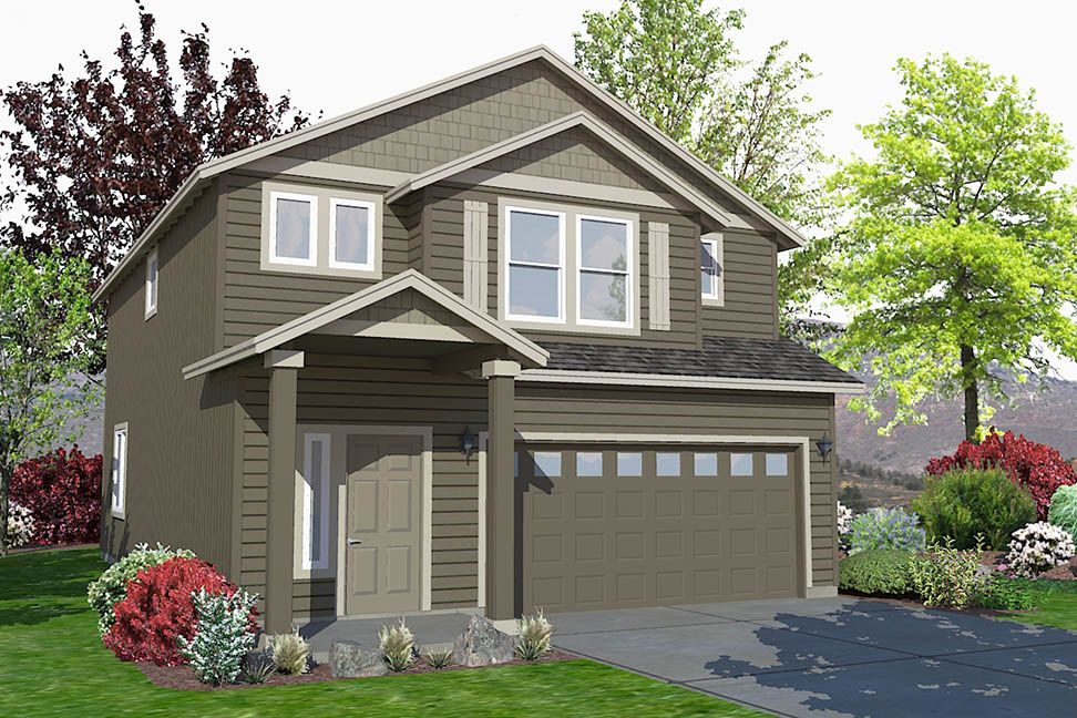 Exterior featured in the Middleton By Hayden Homes, Inc. in Corvallis, OR