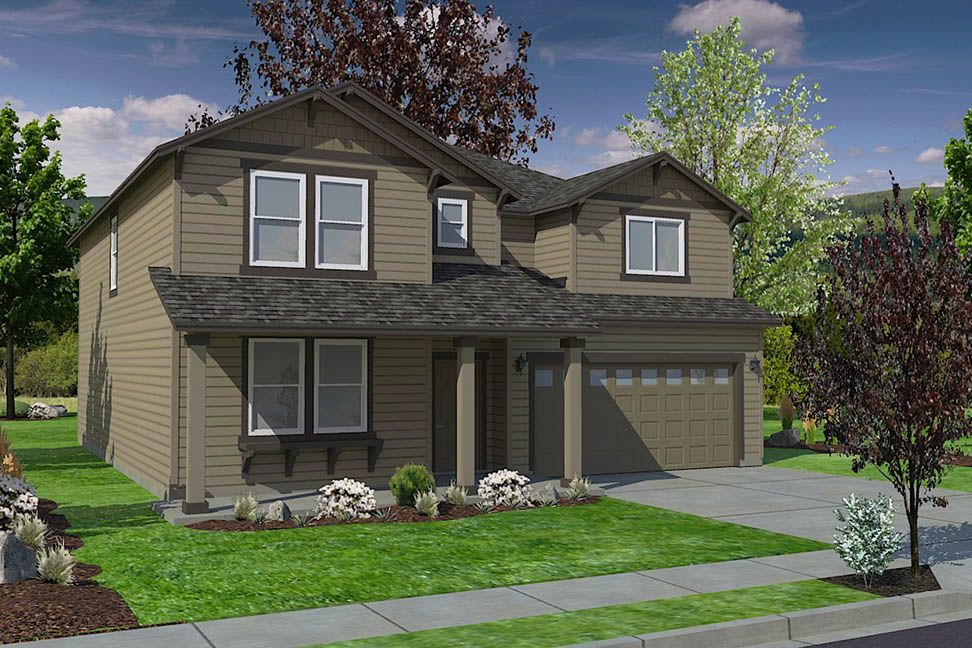 Exterior featured in the Vale By Hayden Homes, Inc. in Richland, WA