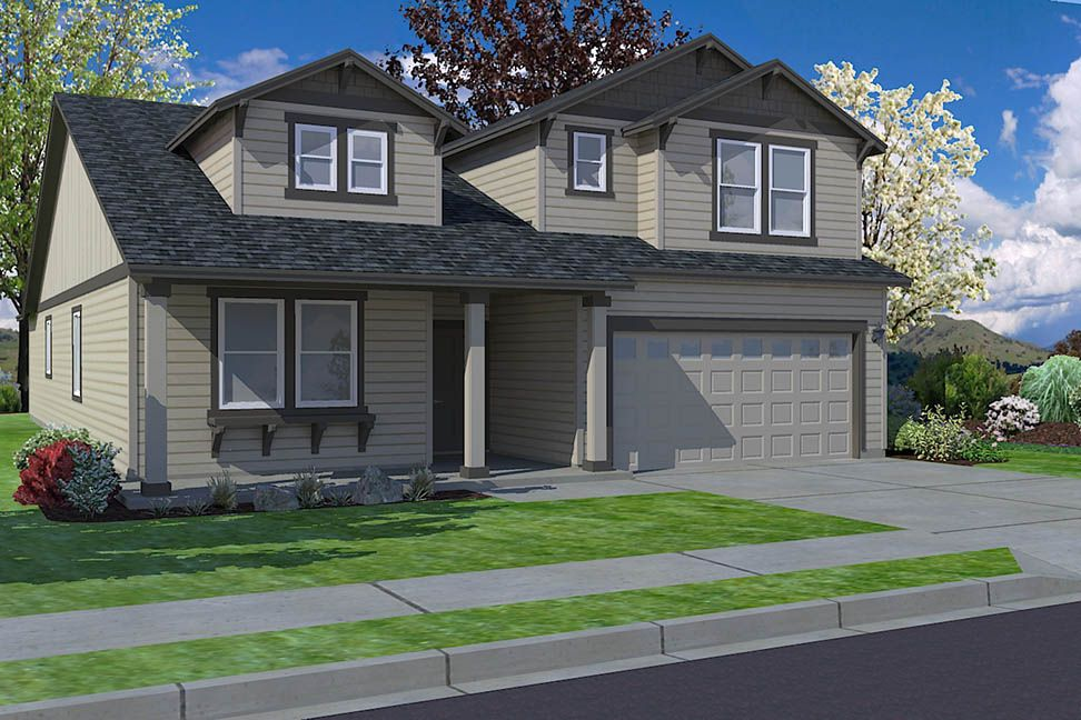 Exterior featured in the Orchard Encore By Hayden Homes, Inc. in Spokane-Couer d Alene, WA