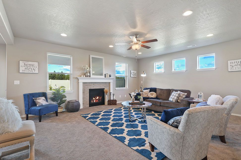 Living Area featured in the Vale By Hayden Homes, Inc. in Yakima, WA