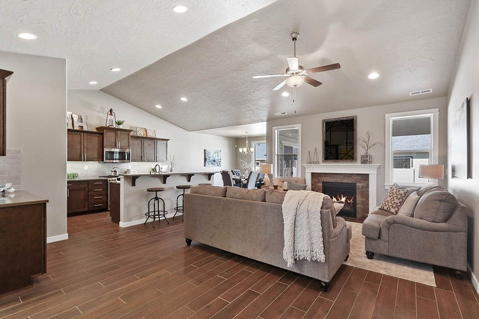 Living Area featured in the Orchard Encore By Hayden Homes, Inc. in Spokane-Couer d Alene, ID