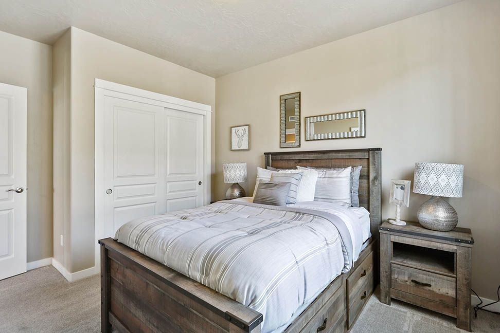 Bedroom featured in the Orchard Encore By Hayden Homes, Inc. in Corvallis, OR
