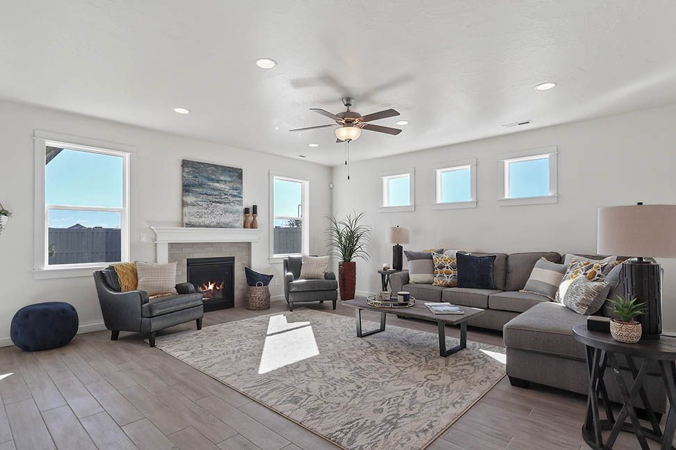 Living Area featured in the Waterbrook By Hayden Homes, Inc. in Spokane-Couer d Alene, ID
