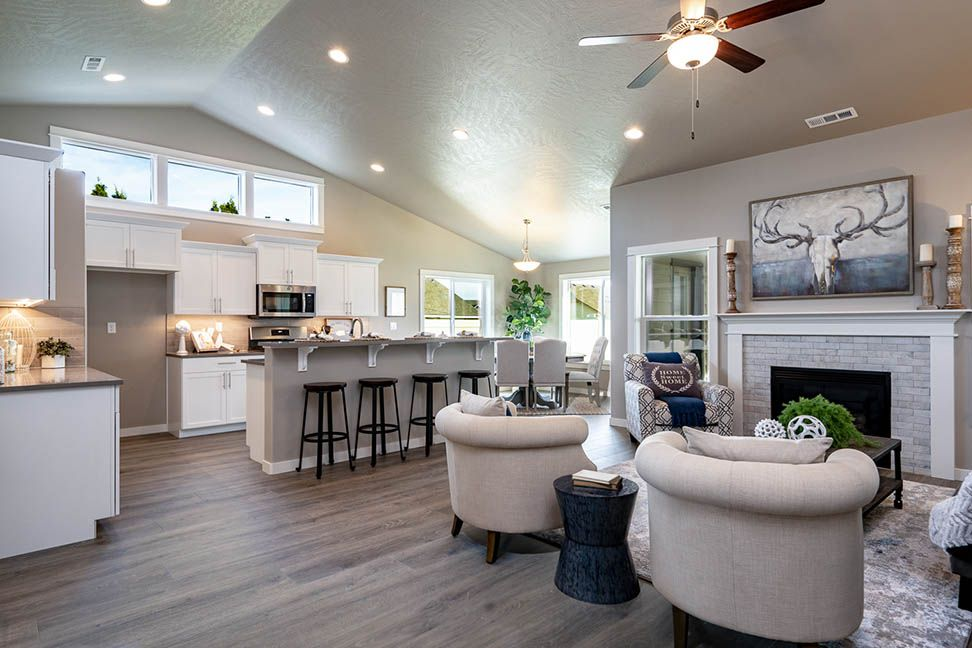 Living Area featured in the Pacific By Hayden Homes, Inc. in Yakima, WA
