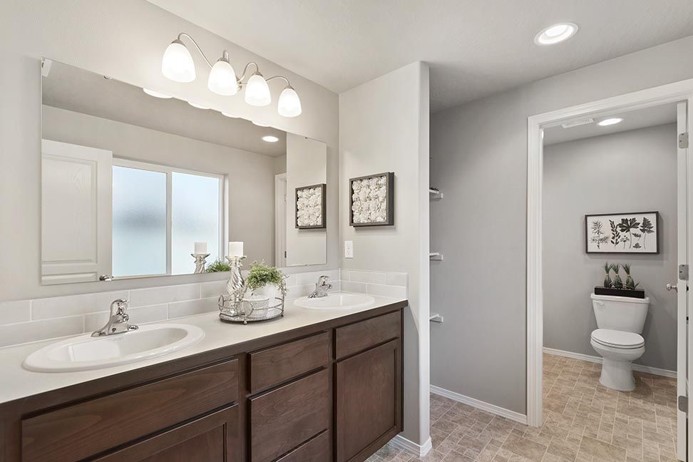 Bathroom featured in the Dover By Hayden Homes, Inc. in Corvallis, OR