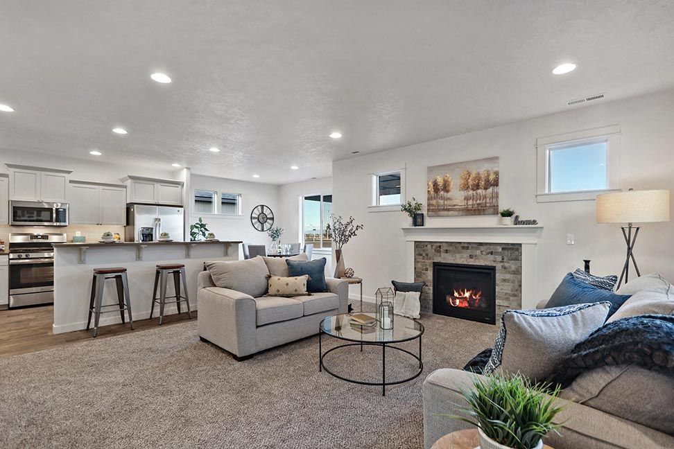 Living Area featured in the Middleton By Hayden Homes, Inc. in Eugene-Springfield, OR