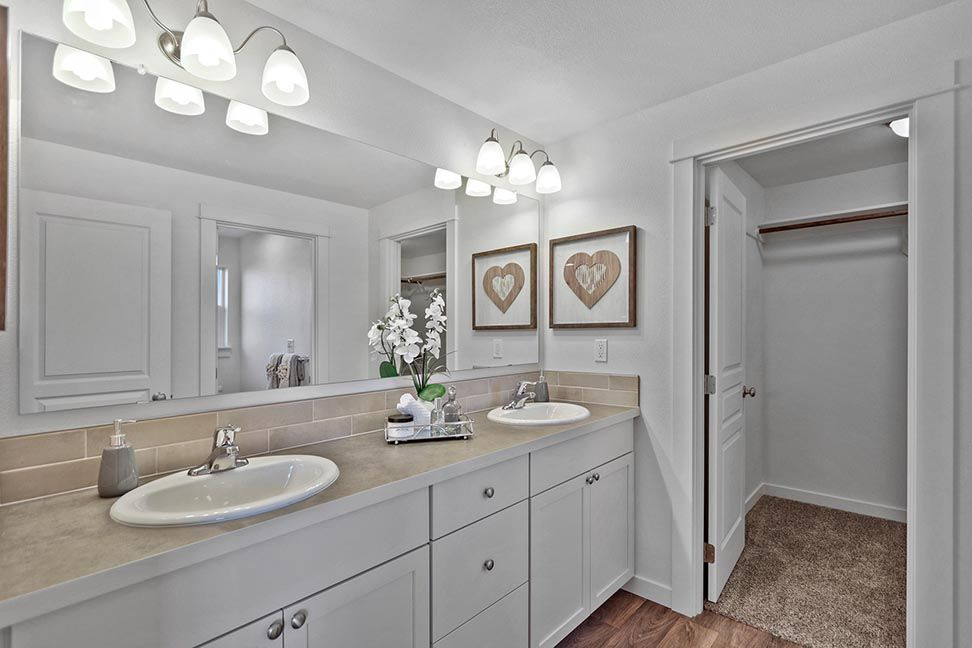 Bathroom featured in the Middleton By Hayden Homes, Inc. in Corvallis, OR