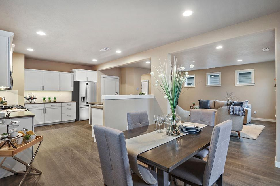 Kitchen featured in the Talent By Hayden Homes, Inc. in Medford-Ashland, OR