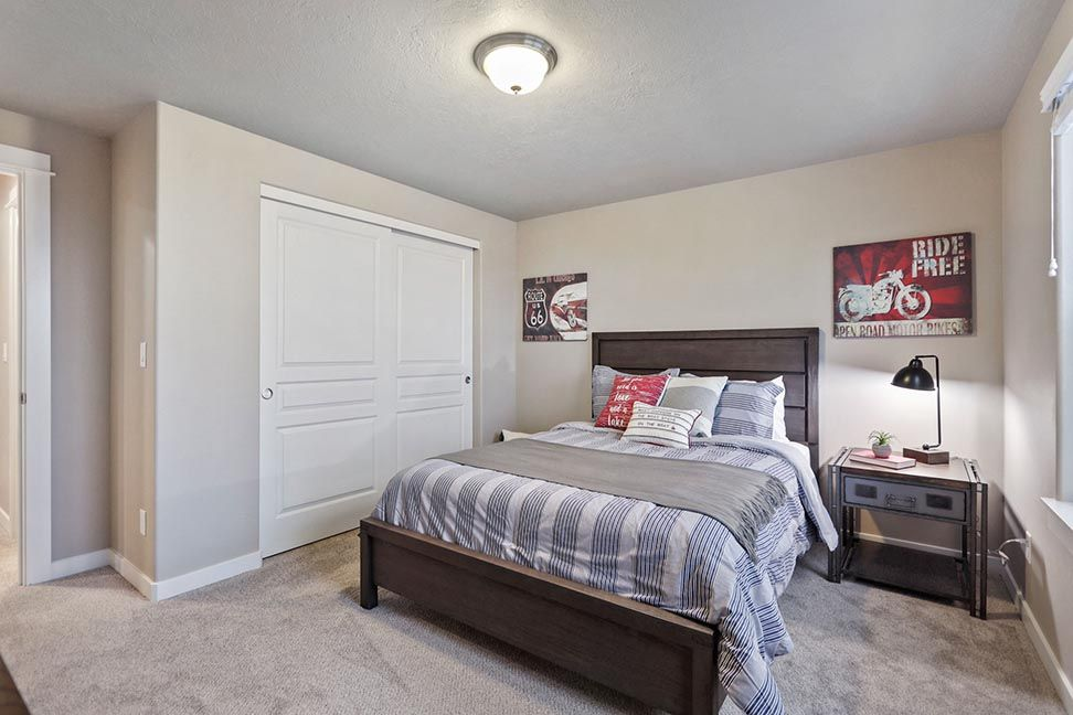 Bedroom featured in the Talent By Hayden Homes, Inc. in Medford-Ashland, OR