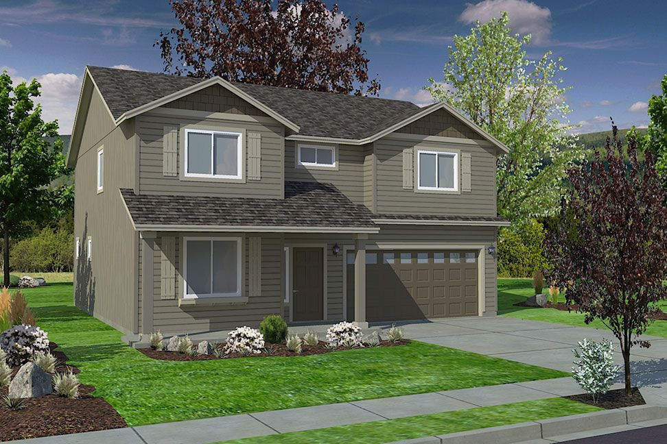 Exterior featured in the Timberline By Hayden Homes, Inc. in Corvallis, OR