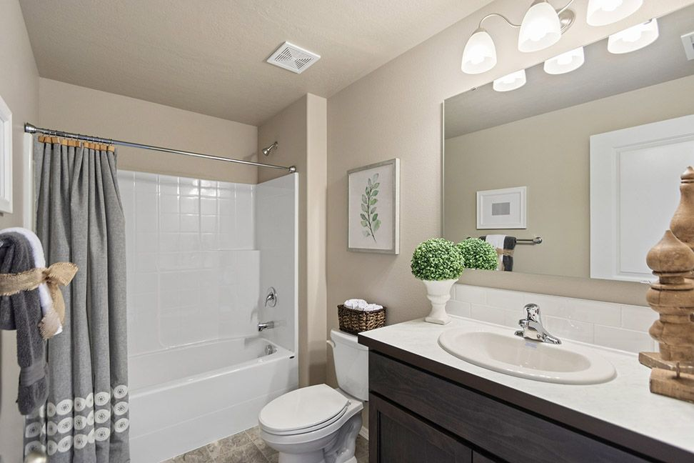 Bathroom featured in the Edgewood By Hayden Homes, Inc. in Corvallis, OR