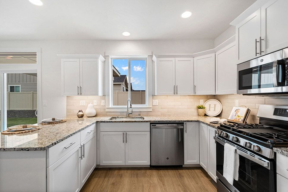 Kitchen featured in the Timberline By Hayden Homes, Inc. in Medford-Ashland, OR