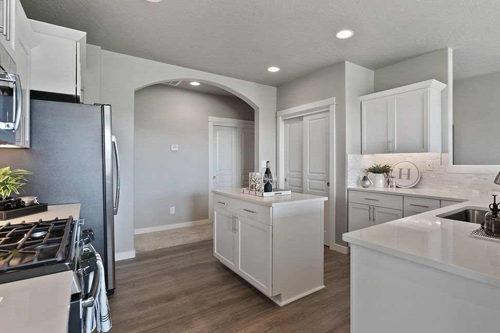 Kitchen featured in the Snowbrush By Hayden Homes, Inc. in Medford-Ashland, OR