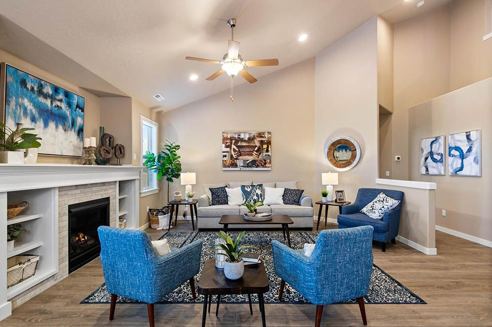 Living Area featured in the Umpqua By Hayden Homes, Inc. in Eugene-Springfield, OR