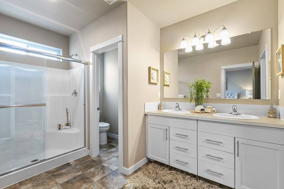 Bathroom featured in the Targhee By Hayden Homes, Inc. in Central Oregon, OR