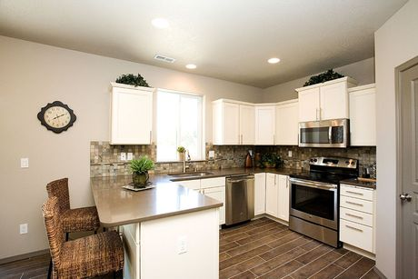 Kitchen-in-Teton-at-Cottages at Clearwater Creek-in-Richland