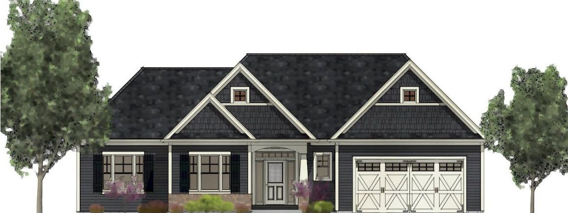 Exterior featured in the Floor Plan 1 By Hedding Homes, LLC in Rochester, NY