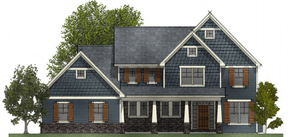 Exterior featured in the Floor Plan 3 By Hedding Homes, LLC in Rochester, NY